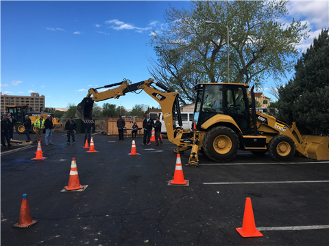 2017 APWA Colorado State Backhoe Competition